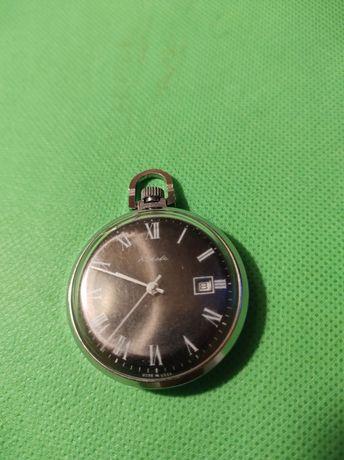 Radziecki zegarek kieszonkowy RAKIETA