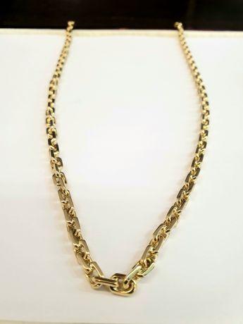 Łańcuszek złoty 61.76g p.585 wzór kuty / ankrowy