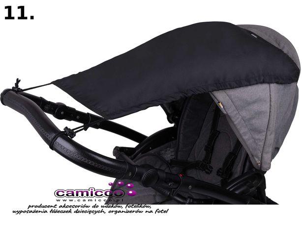 CAMICCO - DASZEK osłonka do wózka Przeciwsłoneczna parasolka osłonki