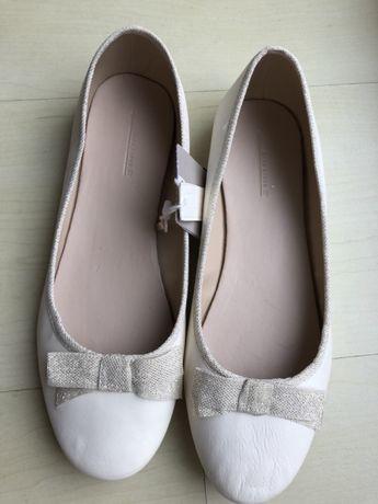 Zara buty Komunia balerinki baleriny r.37
