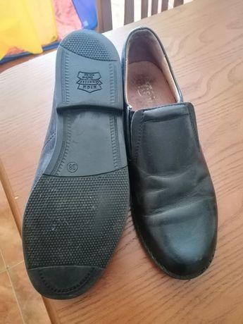 Туфли кожаные 38р.