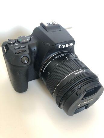 Canon EOS 250D czarny + obiektyw 18-55mm. Gwarancja.