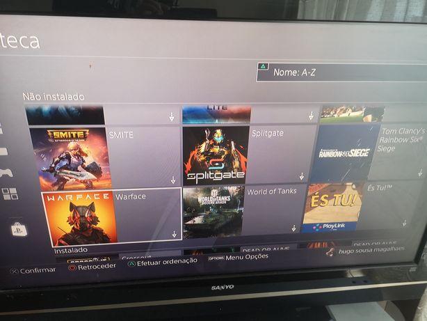 Jogos ps4 tem 28 jogos digitais