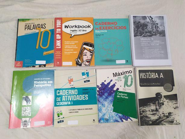 Cadernos de atividades