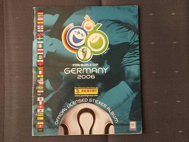 CADERNETA Cromos MUNDIAL Germany 2006 Panini
