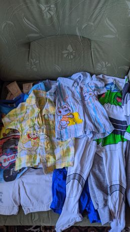 Пакет фирменных вещей на мальчика 9-12-18 месяцев, 1-1,5 года, одежда