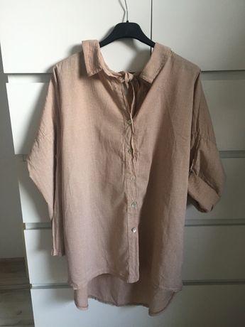Koszula wiązana na plecach