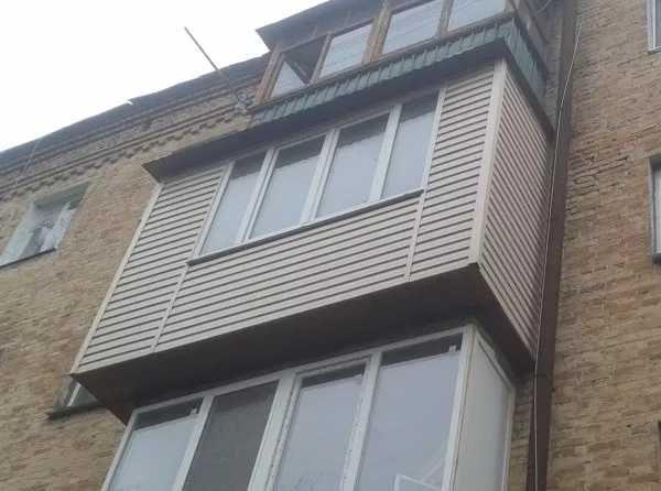 Реставрація винос балконів