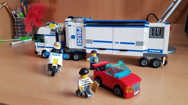 Lego City 7288 mobilna jednostka policji 100% klocków