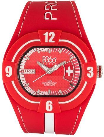 """ZEGAREK B360 watch """"B Proud"""" Switzerland - NOWY"""