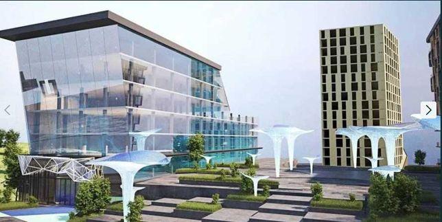 Шикарная квартира с террасами на Софиевской в Itown- комплексе