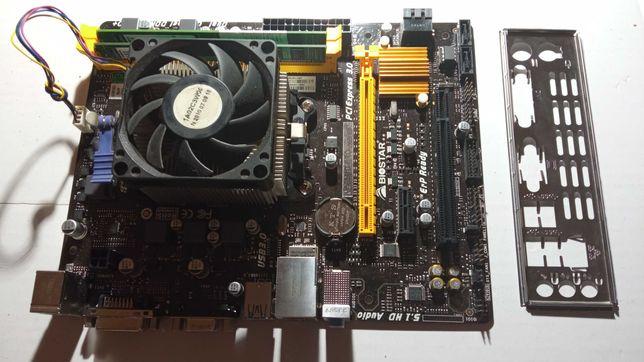 Biostar A68MD PRO Ver.6.0, sFM2+ Athlon X4 840, 3100-3700 MHz+8Gb