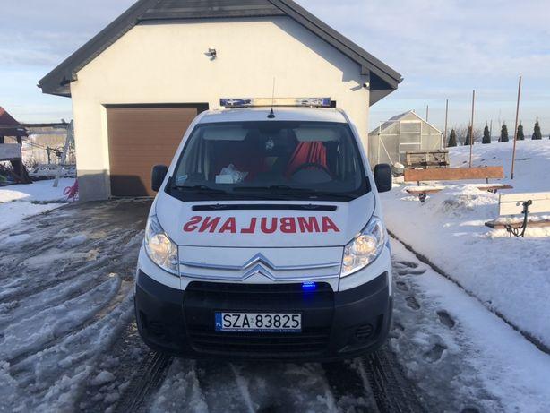 Ambulans Citroen Jumpy