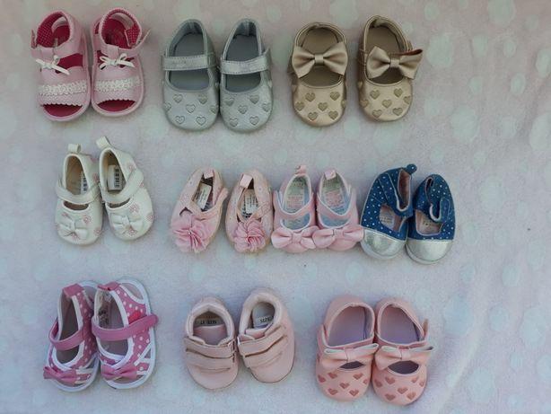 Sandálias bebe n 17, n18.