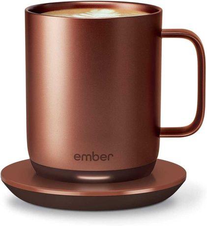 Чашка з підігрівом Ember Cup (Copper; з брендуванням GitHub)