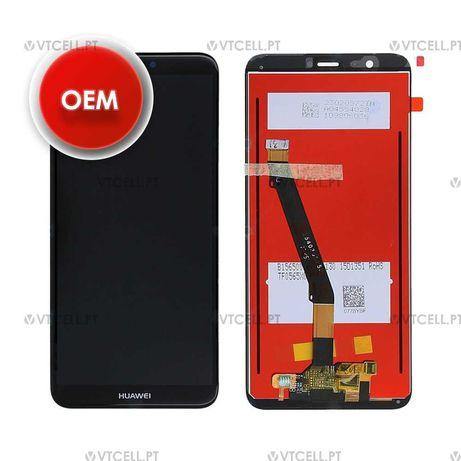 Ecrã LCD + Touch para Huawei P Smart (FIG-LX1) - Preto (OEM)