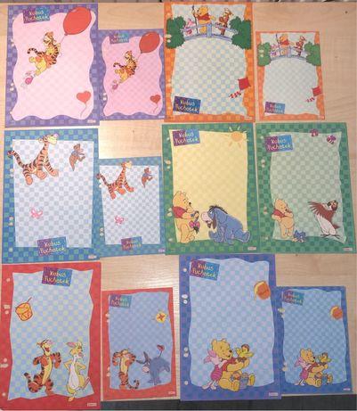 Karteczki kolekcjonerskie do segregatora