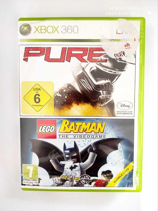 Pure i Lego Batman 2w1 Xbox 360 Suwałki - image 1