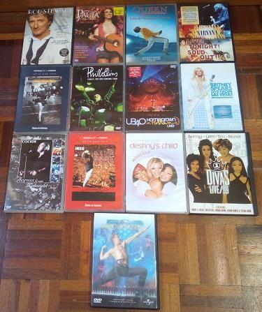DVD'S Originais Musica