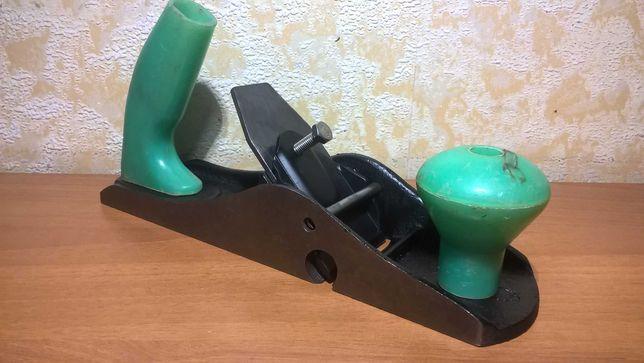 Рубанок ДТРЗ №4, ручной столярный инструмент СССР, деревообработка