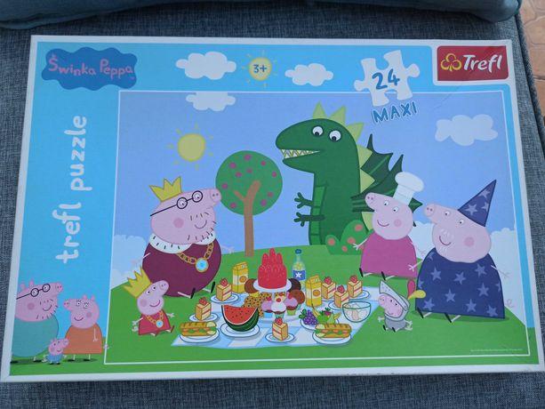 Puzzle Maxi Świnka Peppa 24 elementy