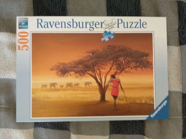 Puzzle Ravensburger Massai Africana