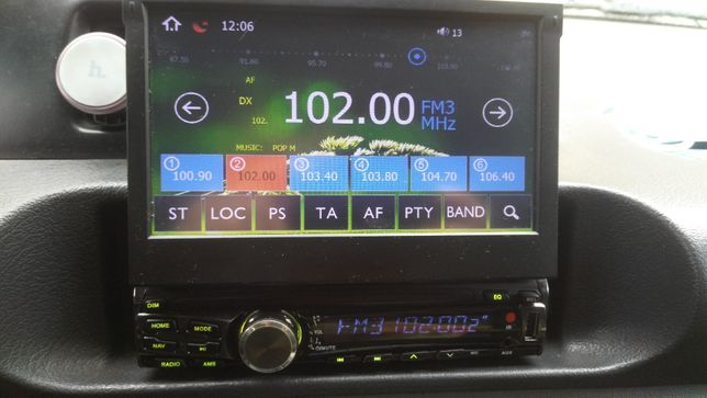 Автомагнитола Terra MTK-GB705 GPS