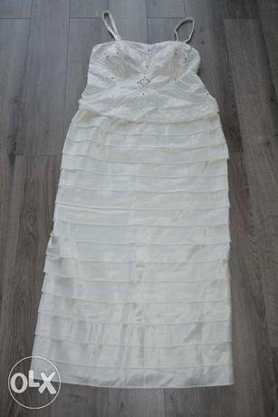 NOWA suknia ślubna Nina Nischelle (40/42) bolerko ślub zamiana Pandora