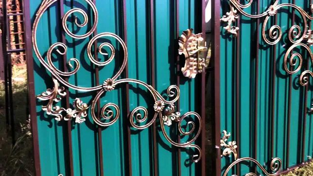 Сварка ,ворота ,калитка,декор ,ограждение .