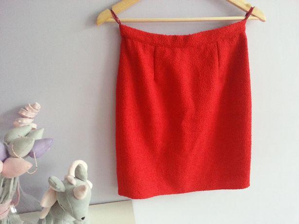Spódnica mini czerwona xs/s