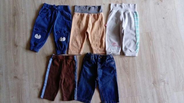 Spodnie rozm. 62/68 Markowe-LUPILU, COOL CLUB, HM. jak nowe