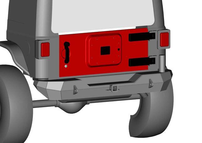 Бампер силовий Jeep Wrangler JK/Бампер силовой/Силовой бампер
