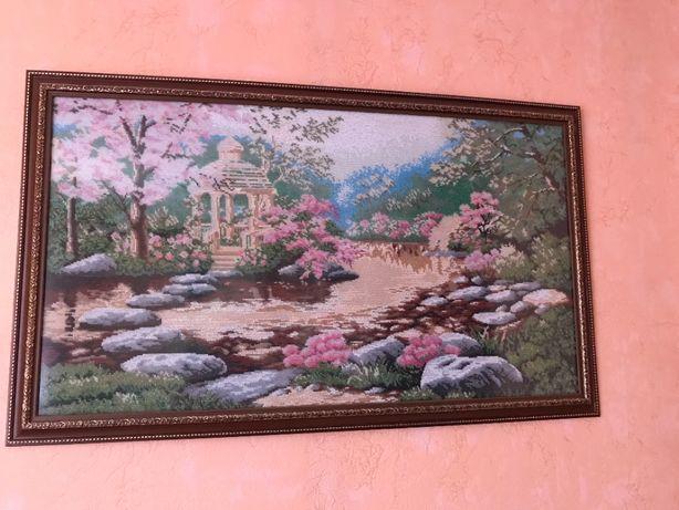 Картина вышита чешским бисером продажа д93*в55-гл1,5