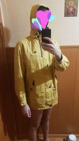Куртка Лакоста на флисе
