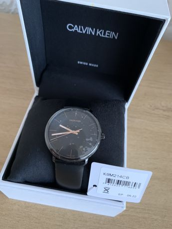 Oryginalny nowy męski zegarek Calvin Klein