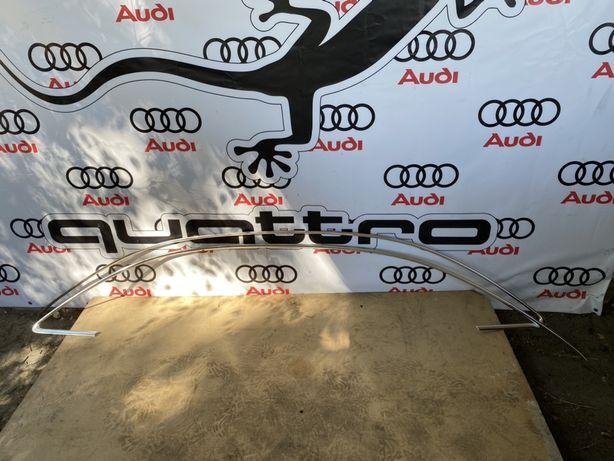 Молдинг крыши хром Audi A4 B8 8k0 8k5 седан 8k5853704G 8k5853703G