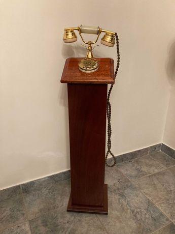 Telefone antigo a funcionar