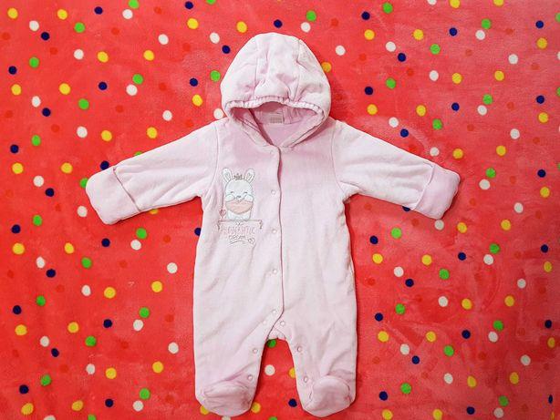 Зимний комбинезон для новорожденных 62 размер
