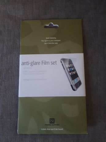 Anti-glare film set iPhone-folia na ekran telefonu iPhone / iPod Touch