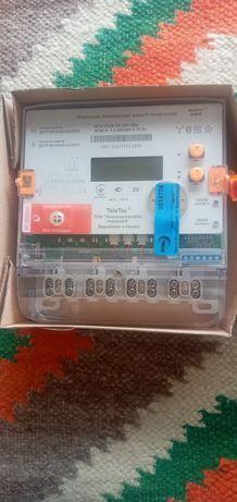 Лічильник електричний СMTX 3G20.DD.3Z3-YD4, 5(10)A, 3ф 3х220/380В