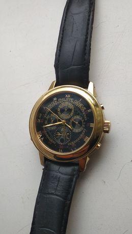 Механические часы Patek Philippe Sky Moon Gold Black