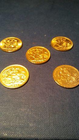 Libras Lote 5 (Urgente) Ouro 22k