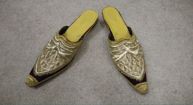 Обувь для костюма Султана