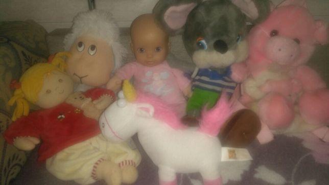 Игрушки для вашей малышки
