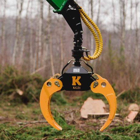 chwytak Kellfri do drewna pni kłód 1250mm