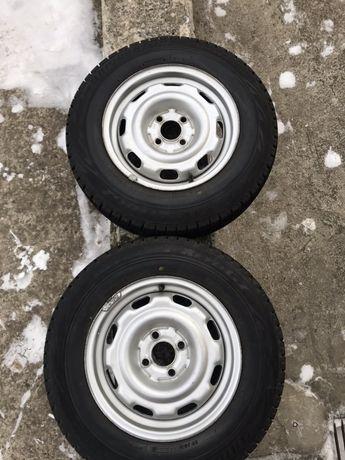 Bridgestone blizzak revo GZ 185/70 R14 Японія пара коліс на дисках
