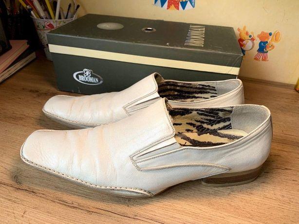Кожаные мужские туфли р.44