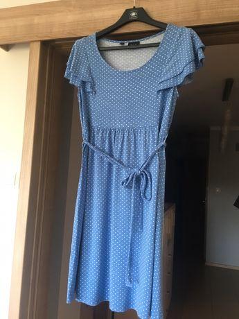 Sukienka ciążowa- elegancka, zwiewna