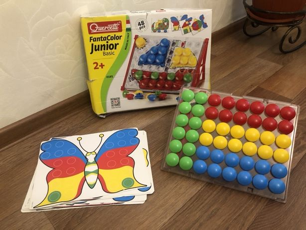 Мозайка Quercetti Fanta Color Junior basic 48 pcs. 2+