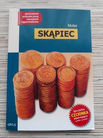 """""""Skąpiec"""" - Molier"""